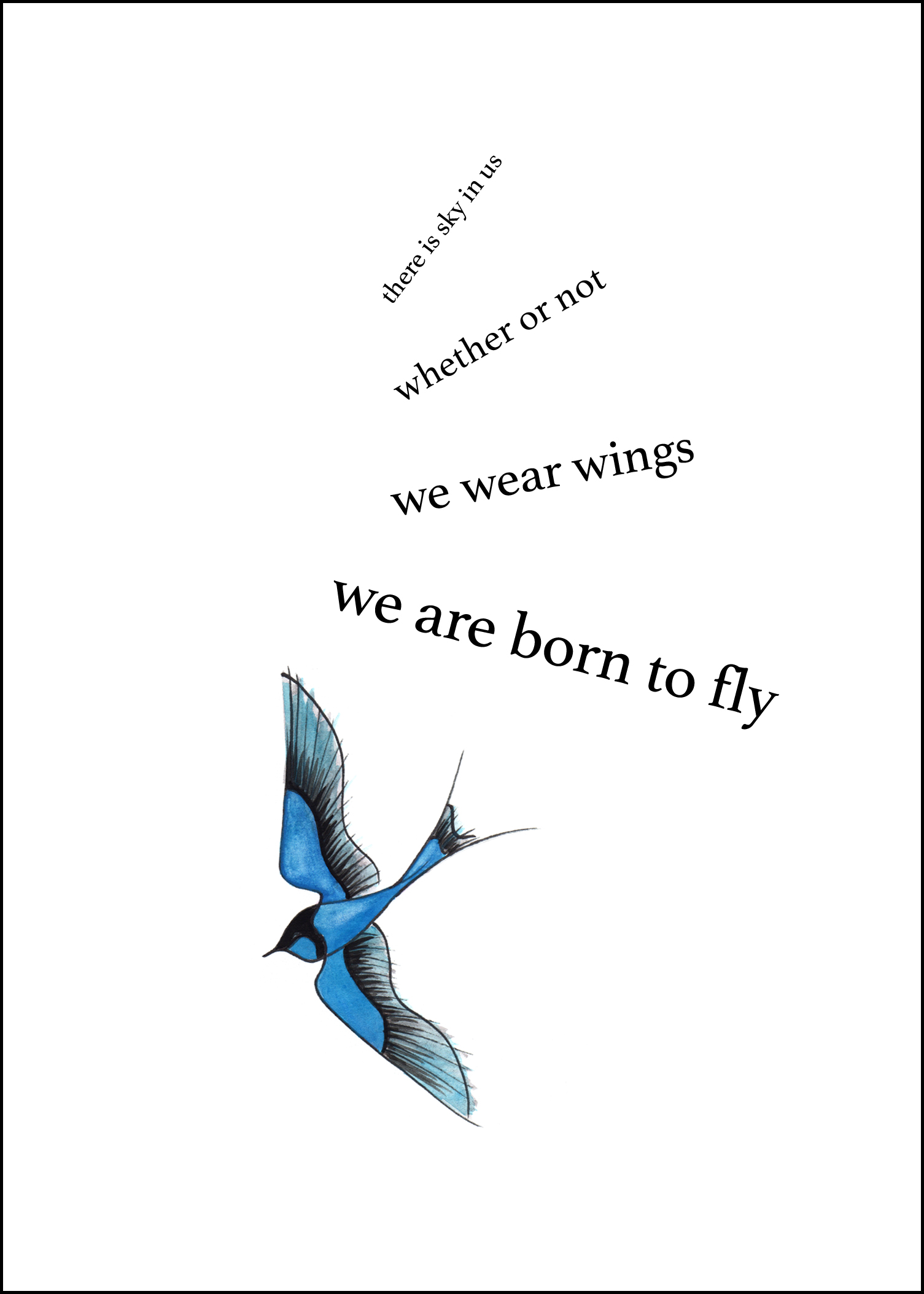 Born to Fly - by Anna Elkins